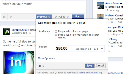 Facebook Page Post Ads 2 Facebook Advertising Guide: All Ad Types and Specs