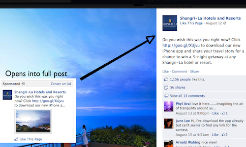 Facebook Page Post Ads Facebook Advertising Guide: All Ad Types and Specs