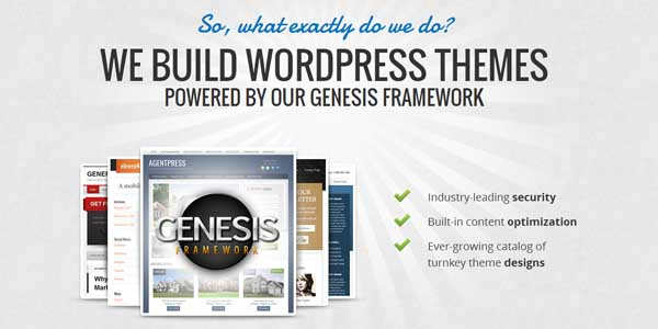 New Look OIT - Switching To The Genesis WordPress Theme